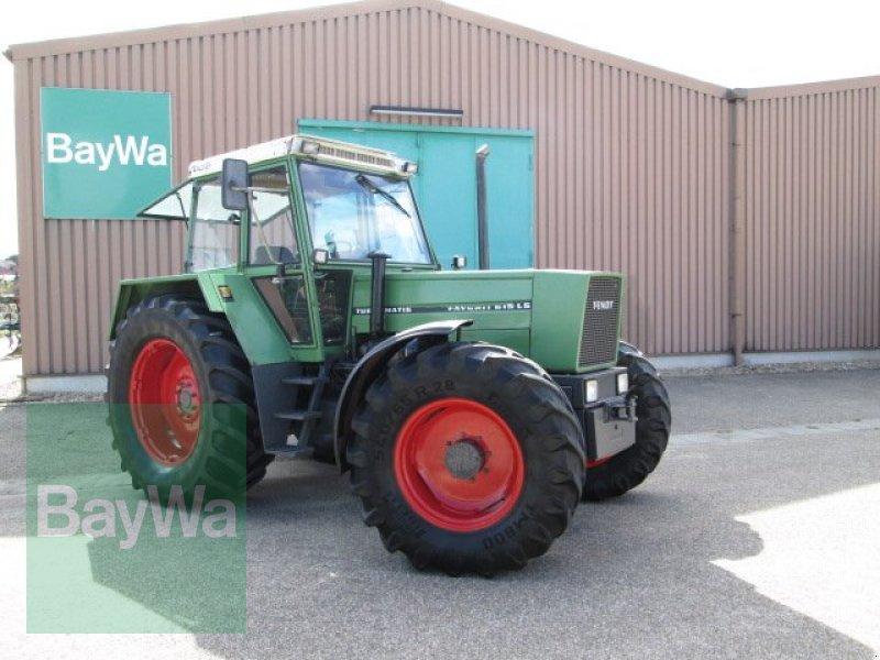 fendt favorit 615 ls mit neunem motor traktor gebrauchte. Black Bedroom Furniture Sets. Home Design Ideas