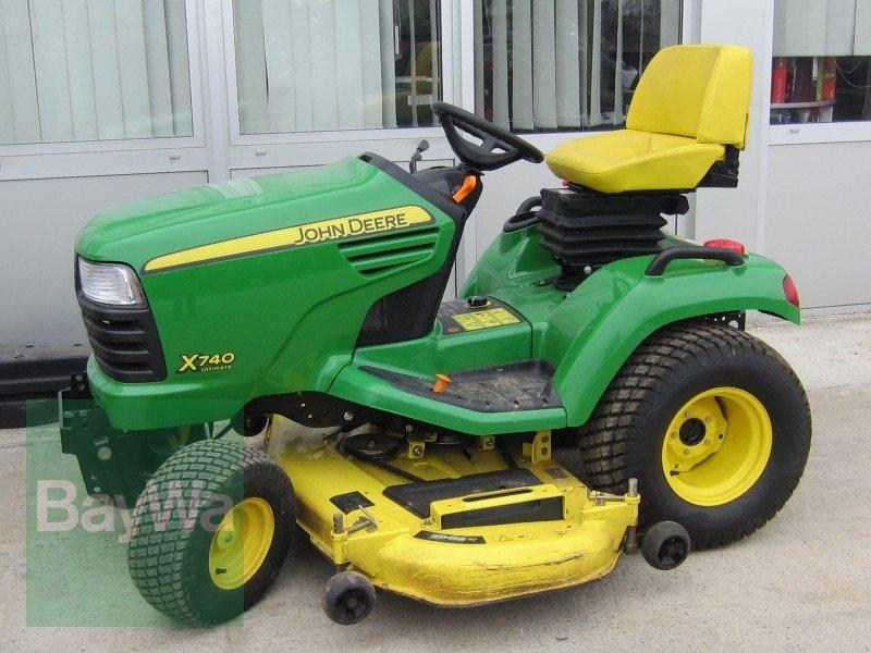 gebrauchte traktoren und landmaschinen die baywa boerse gebrauchtmaschine john deere x 740. Black Bedroom Furniture Sets. Home Design Ideas
