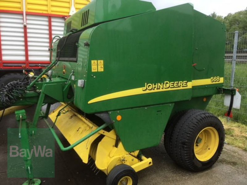 John Deere 568 Round baler - Used tractors and farm