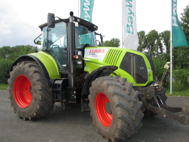 Foto CLAAS Axion 840 CEBIS